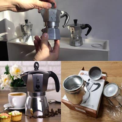 Как правильно почистить итальянскую кофеварку?